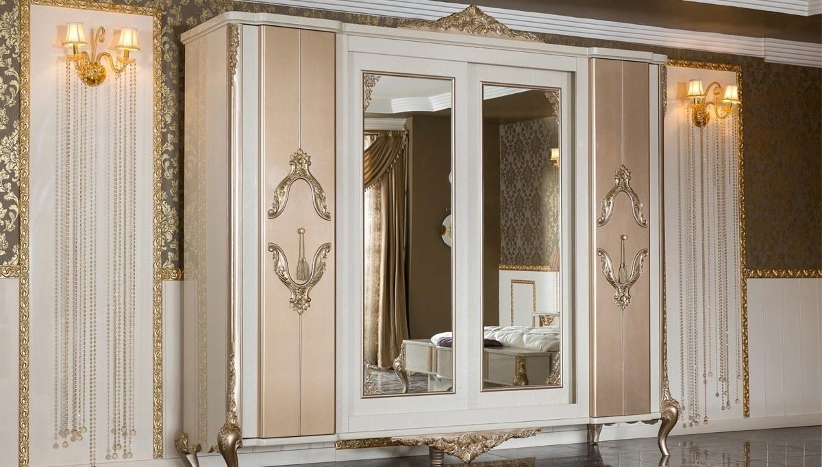 Lüks Letizya Klasik Yatak Odası