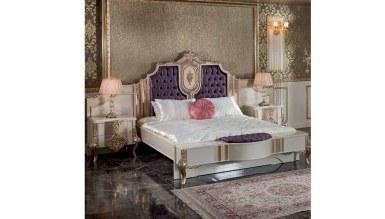 Lüks Letizya Klasik Yatak Odası - Thumbnail
