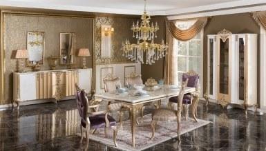 770 - Lüks Letizya Klasik Yemek Odası
