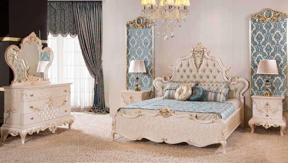 Lüks Levida Klasik Yatak Odası