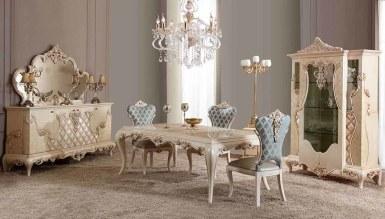 Lüks Levida Klasik Yemek Odası