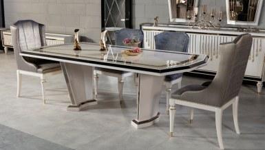 Lüks Levora Metal Yemek Odası - Thumbnail