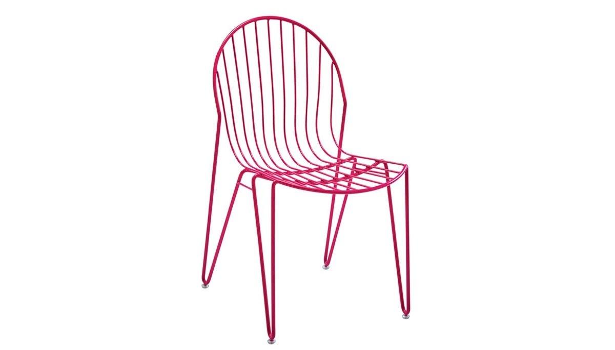 Lüks Ludan Metal Ayaklı Sandalye