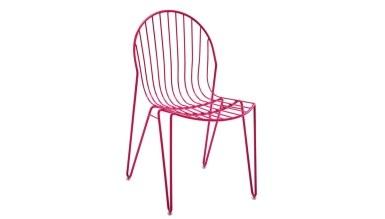 920 - Lüks Ludan Metal Ayaklı Sandalye