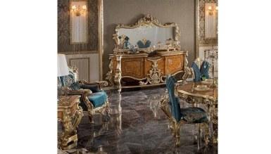 Lüks Lukamora Klasik Yemek Odası - Thumbnail
