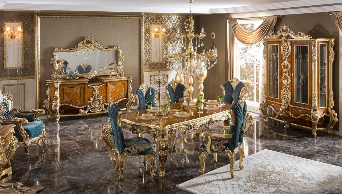 Lüks Lukamora Klasik Yemek Odası