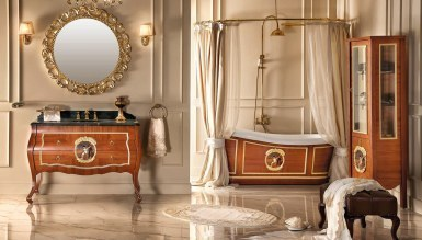 Lüks Lunera Klasik Banyo Takımı
