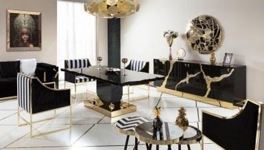 200 - Lüks Luxury Metal Yemek Odası
