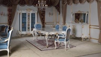806 - Lüks Madesa Mavi Yemek Odası