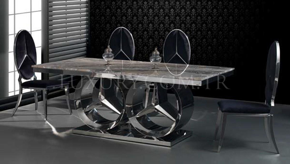 Lüks Maestro Metal Yemek Masası