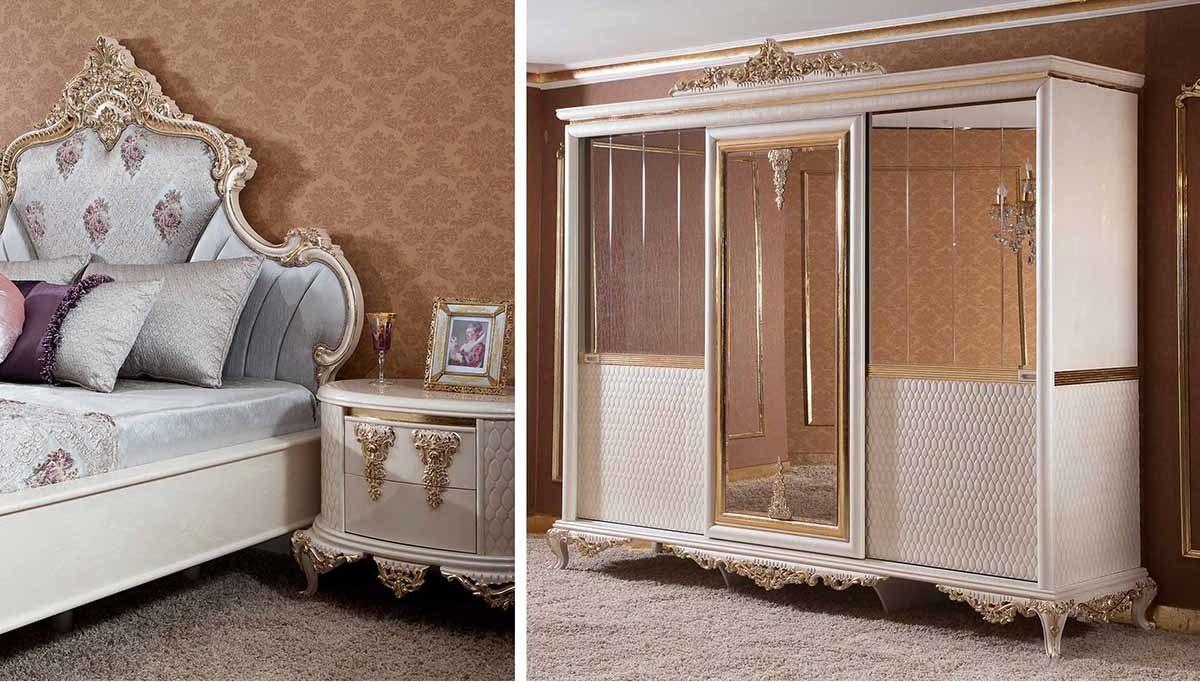Lüks Magetta Klasik Yatak Odası