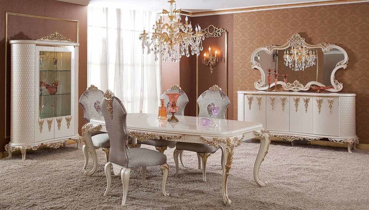 Lüks Magetta Klasik Yemek Odası