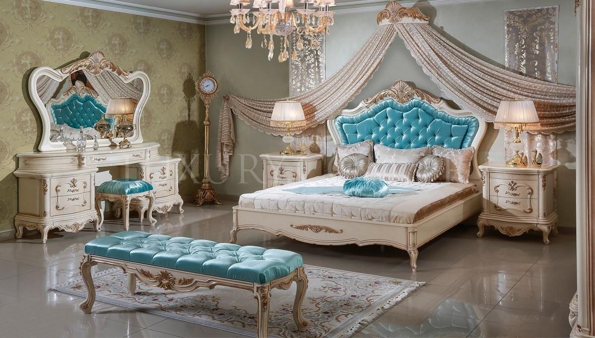 Lüks Mahidevran Klasik Yatak Odası