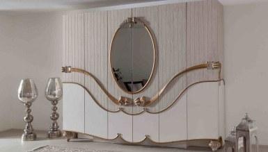 Lüks Mahpeyker Klasik Yatak Odası - Thumbnail