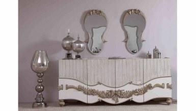 Lüks Mahpeyker Klasik Yemek Odası - Thumbnail