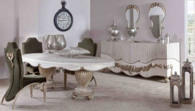 768 - Lüks Mahpeyker Klasik Yemek Odası