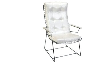 920 - Lüks Makem Uzun Metal Ayaklı Sandalye