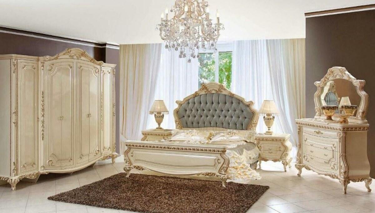 Lüks Malik Klasik Yatak Odası