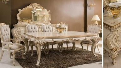 Lüks Malik Klasik Yemek Odası - Thumbnail
