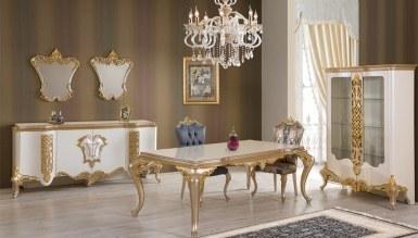 Lüks Manolas Klasik غرفة الطعام