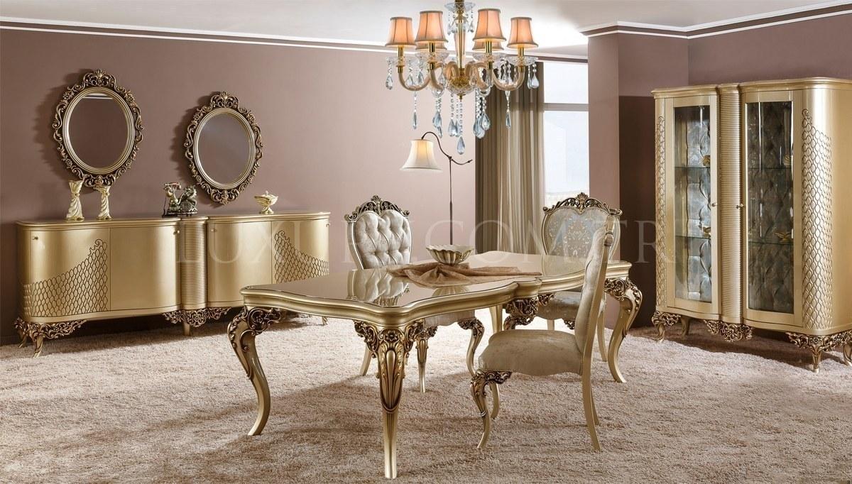 Lüks Manorya Klasik Yemek Odası