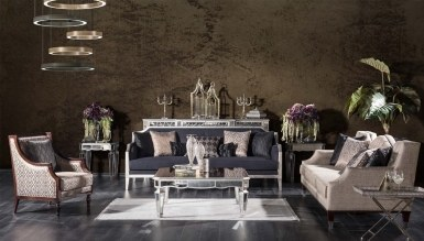 931 - Lüks Marella Art Deco Koltuk Takımı