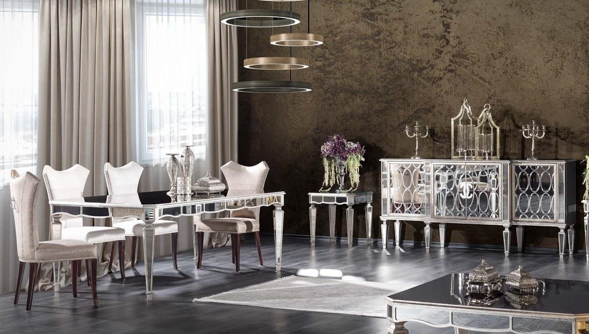 Lüks Marella Art Deco Yemek Odası