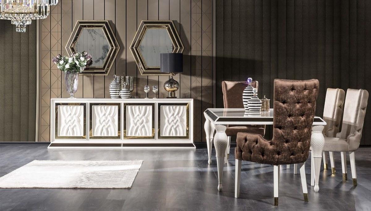Lüks Mareşal Art Deco Yemek Odası