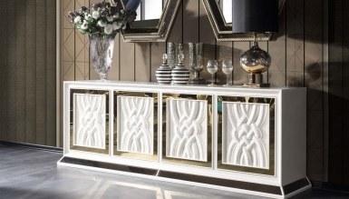Lüks Mareşal Art Deco Yemek Odası - Thumbnail