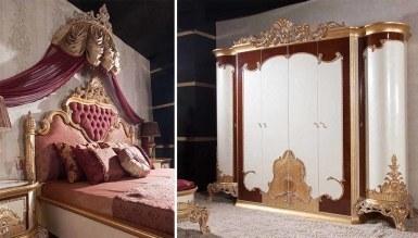 Lüks Margante Klasik Yatak Odası - Thumbnail