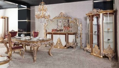 623 - Lüks Margante Klasik Yemek Odası