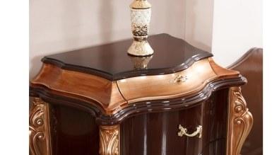 Lüks Markus Ceviz Klasik Yatak Odası - Thumbnail