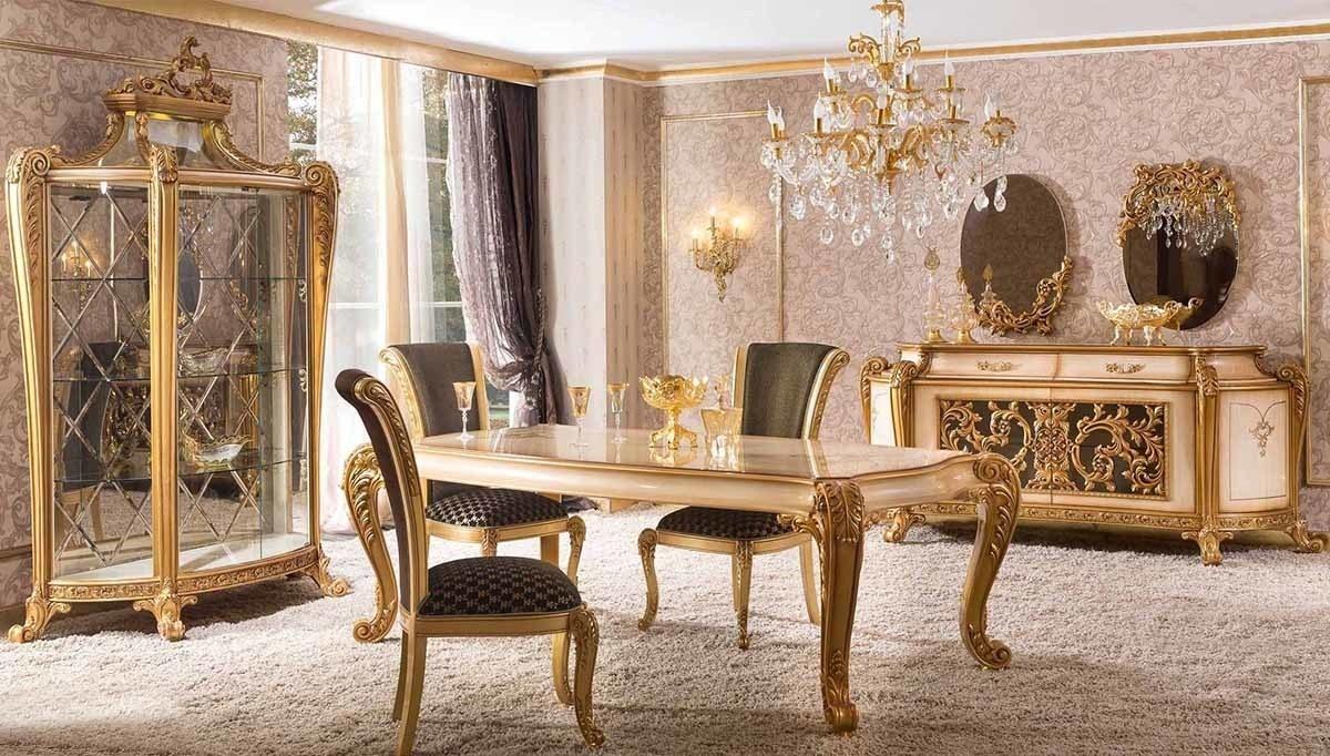 Lüks Marsente Klasik Yemek Odası