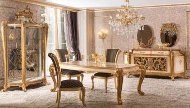 623 - Lüks Marsente Klasik Yemek Odası