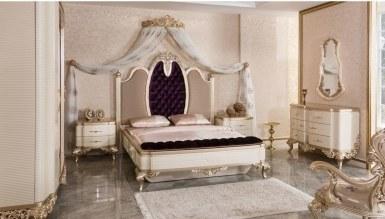 Lüks Masiva Klasik Yatak Odası - Thumbnail