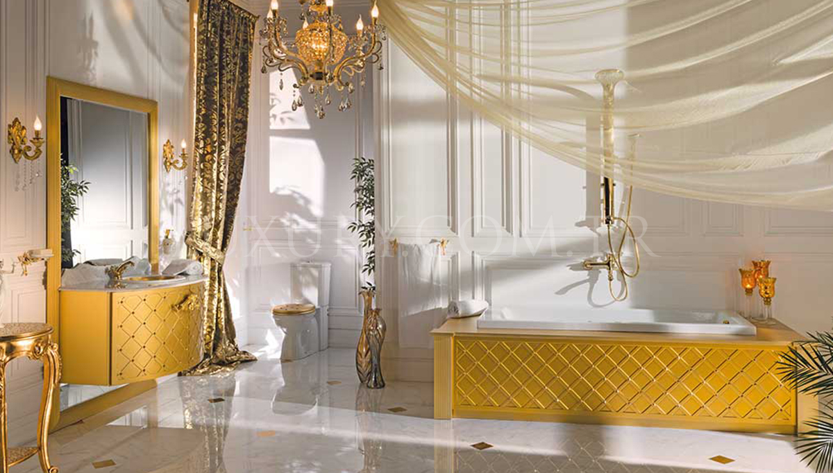 Lüks Matered Klasik Banyo Takımı