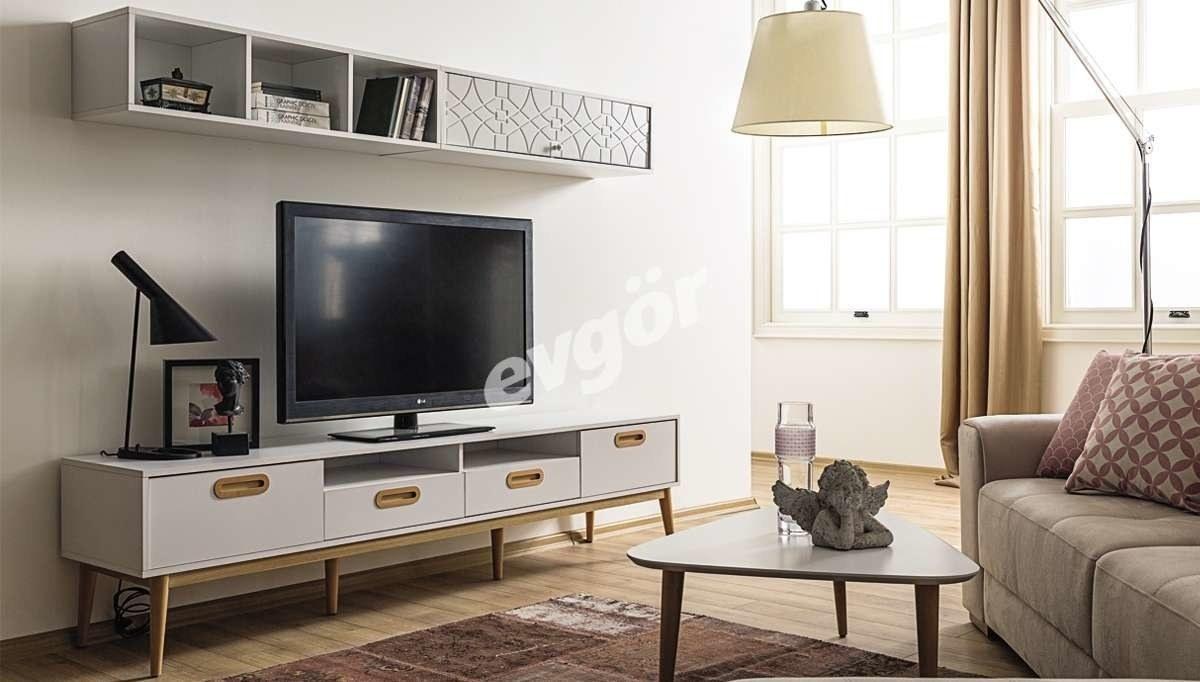 Lüks Mavera Modüler TV Ünitesi