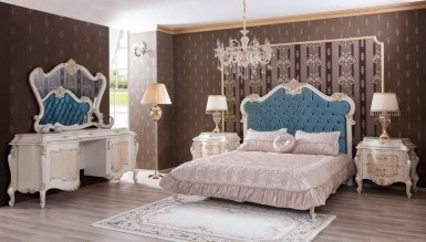 708 - Lüks Mazuro Varaklı Yatak Odası