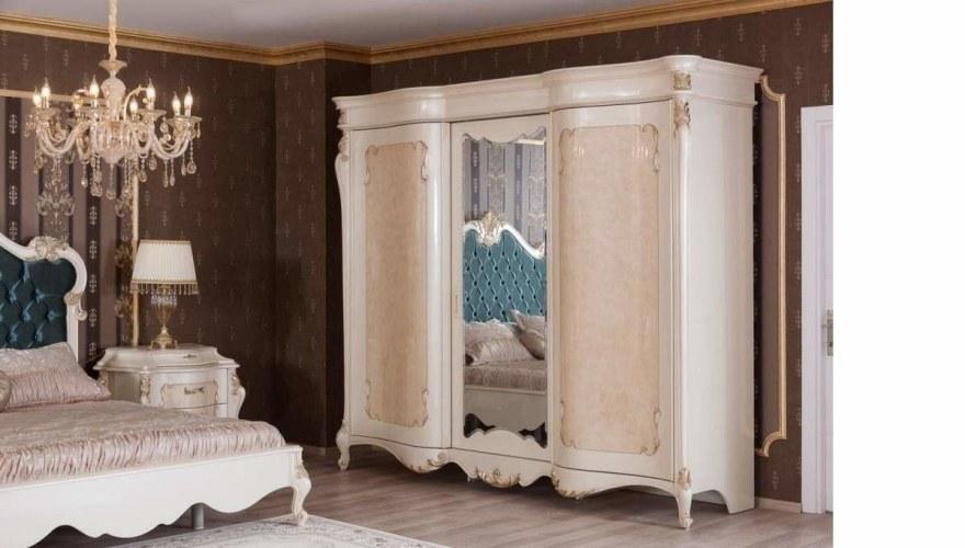 Lüks Mazuro Varaklı Yatak Odası - Thumbnail