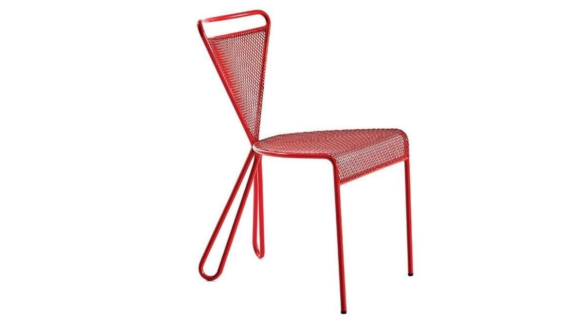 Lüks Medeni Metal Ayaklı Sandalye