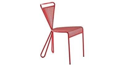 920 - Lüks Medeni Metal Ayaklı Sandalye