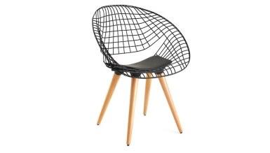 920 - Lüks Medik Ahşap Ayaklı Sandalye