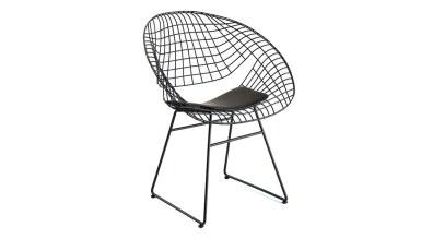920 - Lüks Medik Metal Ayaklı Sandalye