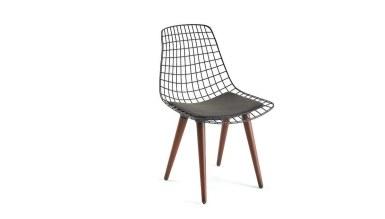 920 - Lüks Medin Ahşap Ayaklı Sandalye