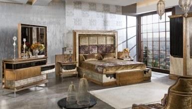 525 - Lüks Megora Metal Yatak Odası