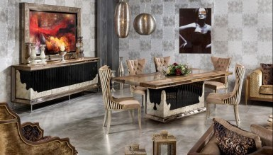Megora Metal Dining Room