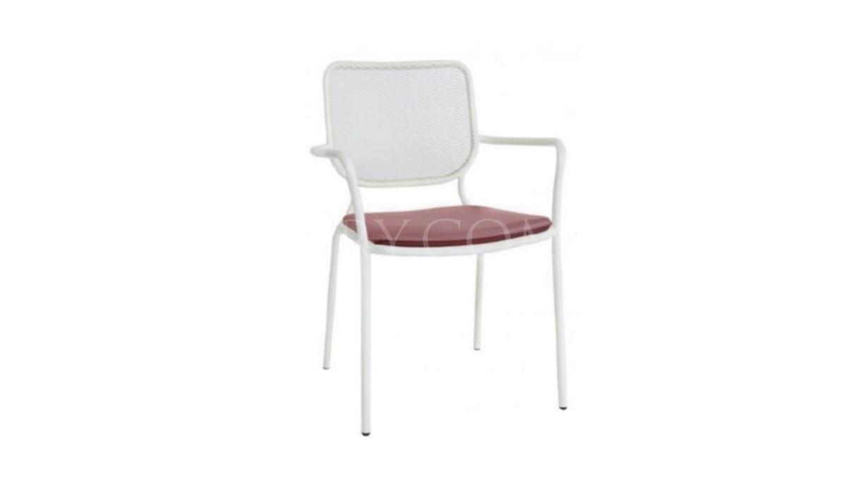 Lüks Mehrab Metal Ayaklı Sandalye