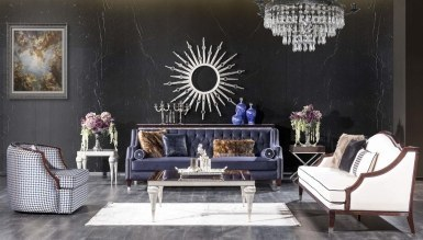 Lüks Melegoni Art Deco Koltuk Takımı - Thumbnail