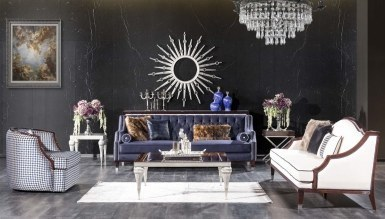 931 - Lüks Melegoni Art Deco Koltuk Takımı