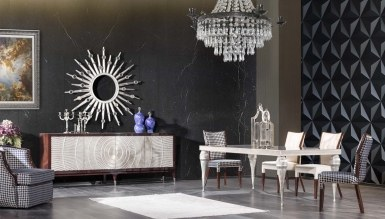 931 - Lüks Melegoni Art Deco Yemek Odası